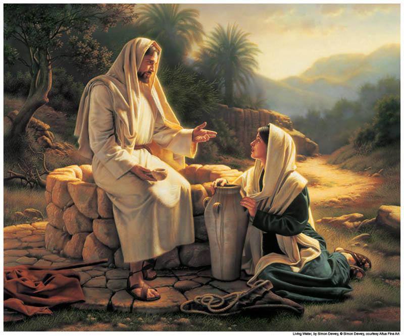 Savez-vous comment sont morts les apôtres de Jésus ? Jesucristo-mujer-samaritana-pozo-mormon