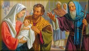 dedicación de Jesus en el Templo