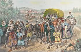 judios huyendo