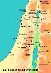 Mapa Nazaret