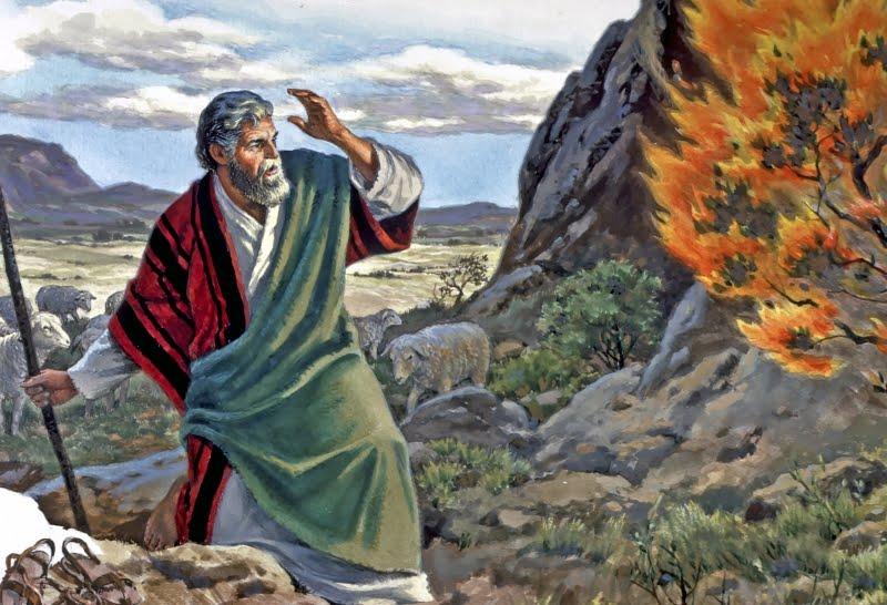 Moses and the Burning Bush