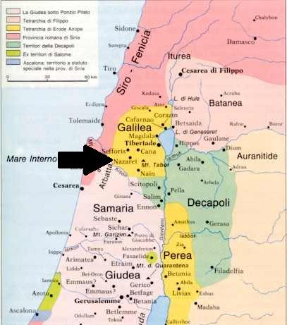 36489 002-4 BIBLE MAP