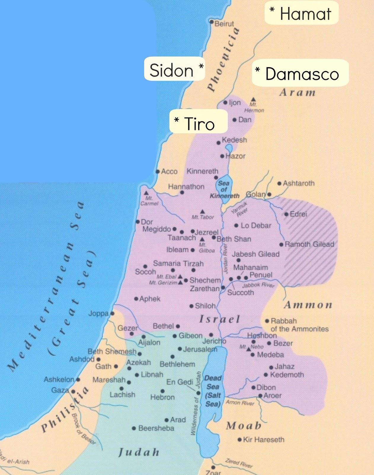 mapa tiro damasco